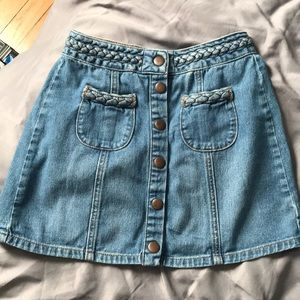 Kendall and Kylie Jean skirt 23 LIKE NEW